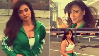 Khatron Ke Khiladi 11 के सेट पर कॉन्फिडेंट स्टाइल में दिखीं Shweta Tiwari, शेयर किया ये BTS Video
