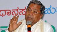 कर्नाटक: सिद्धरमैया ने सीएम बीएस येदियुरप्पा को लिखा पत्र, विधायक क्षेत्र विकास कोष से वैक्सीन खरीदने और लोगों को देने की मांगी अनुमति