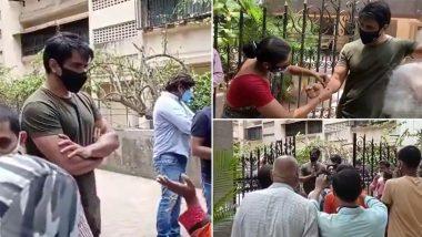 नेकी कर प्यार कमा! Sonu Sood को राखी बांधकर महिला ने जताया सम्मान, एक्टर के घर के बाहर का Video हुआ Viral