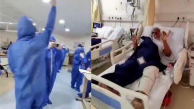 मरीजों के चेहरे पर मुस्कान लाने के लिए अस्पताल के कर्मचारियों ने गाया 'नमो-नमो' गाना, Video हुआ Viral