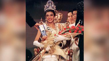 Miss Universe प्रतियोगिता में भारत की पहली जीत का जश्न मना रही हैं Sushmita Sen, थ्रोबैक Photo शेयर कर जताई खुशी