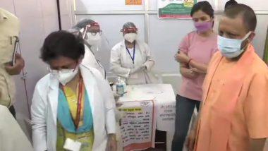 Uttar Pradesh: यूपी के इन सात जिलों में 18-44 आयु वाले लोगों का वैक्सीनेशन शुरू, CM योगी ने लिया जायजा