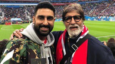 Abhishek Bachchan को ट्विटर यूजर ने बताया Amitabh Bachchan से बेहतर एक्टर, बदले में मिला जवाब सुनकर खुश हुए फैंस