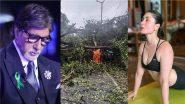 Cyclone Tauktae: मुंबई पहुंचासाइक्लोन तौकते! अमिताभ बच्चन, करीना कपूर समेत इन सेलेब्स ने फैंस से की घर पर रहने की अपील