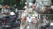 Mysore: लॉकडाउन में बाहर निकले बाइकर को पुलिस ने रोका, शख्स ने कोबरा दिखाता हुए कहा- इसे बचाने गया था, देखें VIDEO