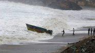 चक्रवाती तूफान 'गुलाब' के तहत भारतीय नौसेना के जहाज, विमान सतर्क