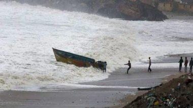 Cyclone Gulab: चक्रवाती तूफान 'गुलाब' के ओडिशा और आंध्र प्रदेश से आज टकराने की संभावना, भारी बारिश का अलर्ट