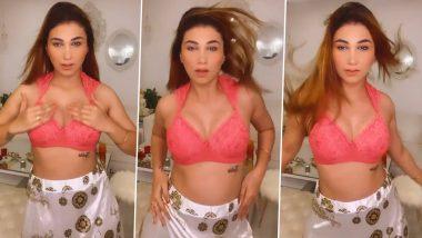 Bigg Boss 12 की Jasleen Matharu ने Hot पिंक Bra पहनकर किया सेक्सी डांस, ताबड़तोड़ वायरल हुआ Video