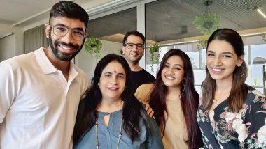 इंग्लैंड रवाना होने से पहले परिवार के साथ Jasprit Bumrah ने शेयर की खूबसूरत तस्वीर