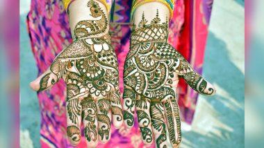Eid Al-Fitr 2021 Mehndi Designs: ईद-उल-फितर पर 5 मिनट में अपने हाथों की सुंदरता को बढ़ाएं, ट्राई करें मेहंदी के ये लेटेस्ट व खूबसूरत डिजाइन