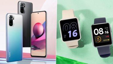 Redmi Note 10S और Redmi Watch भारत में हुए लॉन्च, शानदार फीचर्स से लैस इन गैजेट्स की जानिए कीमत