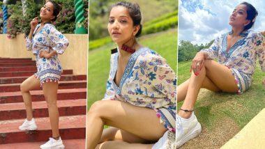 Monalisa Photos: भोजपुरी एक्ट्रेस मोनालिसा ने हॉट स्टाइल में दिखाया अपना हसीन अंदाज, देखें हॉट फोटोज
