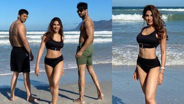 Sexy Bikini पहन निक्की तंबोली ने वरुण सूद के साथ किया वर्कआउट, देखें Video