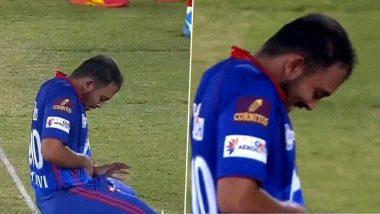 IPL 2021 PBKS vs DC: मैच के दौरान पिच पर पृथ्वी शॉ ने किया कुछ ऐसा, जिसे देखकर लोगों ने बंद कर ली आंखें, वीडियो वायरल