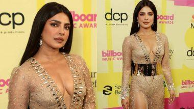 Priyanka Chopra Nude Dress: प्रियंका चोपड़ा ने अवॉर्ड सेरेमनी में न्यूड ड्रेस पहनकर मचाई सनसनी, देखें Hot Photos