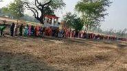 Uttar Pradesh: यूपी के गांवों में महिलाओं ने COVID-19 को दूर करने के लिए की 'कोरोना माई' की पूजा