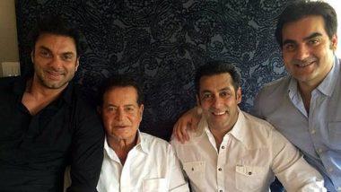 Salman Khan के घर ईद मनाने एकजुट हुआ खान परिवार, देखें भाईजान के फैमिली सेलिब्रेशन की Photos