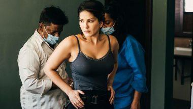 Sunny Leone Photo: सनी लियोन ने शूटिंग सेट से शेयर की ये दिलचस्प तस्वीर, फैंस ने पूछा- Mask कहां है?