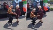 Old Couple Dance Video: बुजुर्ग होने के बाद भी यह कपल दिल से है जवान, डांस वीडियो देखने के बाद बन जाएगा दिन