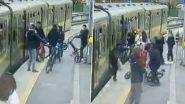 Dublin Horror: डबलिन में दिखा छेड़छाड़ का खौफनाक मंजर, लड़के ने दिया धक्का तो ट्रेन के नीचे जा गिरी लड़की, देखें वायरल वीडियो