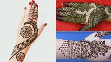 Eid al-Fitr 2021 Arabic Mehndi Designs: ईद-अल-फितर पर हाथों में रचाएं ये खूबसूरत और आसान अरेबिक मेहंदी डिजाइन, देखें ट्यूटोरियल्स