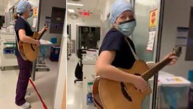 Viral Video: आईसीयू में भर्ती COVID मरीजों को चीयर अप करने के लिए नर्स ने गाया 'You Are Not Alone' गाना, देखें इमोशनल वीडियो