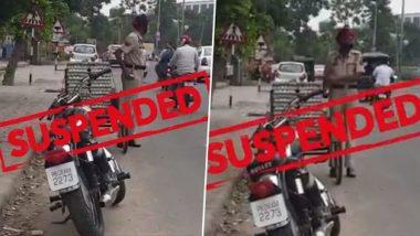 Punjab Cop Steals Eggs Video: पंजाब पुलिस के हेड कांस्टेबल ने सड़क पर खड़ी गाड़ी से चुराए अंडे, वीडियो वायरल होने के बाद सस्पेंड