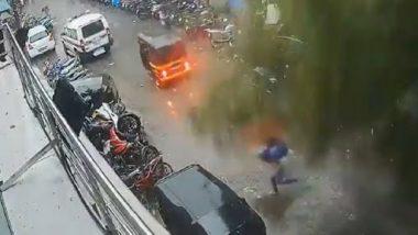 Viral Video: मुंबई में मौत के मुंह में जाने से बाल बाल बची महिला, उसके बाद जो हुआ... देखें वायरल वीडियो