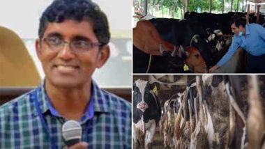 इस IIT ग्रेजुएट ने छोड़ी अपनी यूएस जॉब, नौकरी छोड़ने के बाद खरीदी 20 गाय, महीने कमाते हैं इतने करोड़