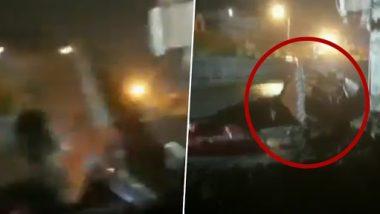 Video: लगातार बारिश से दिल्ली के कई इलाकों में भरा पानी, नज़फगढ़ में धंसी सड़क लील गई ट्रक, देखें वीडियो