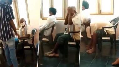 Video: इन चचा का कोरोना बाल भी बाका नहीं कर सकता, सैनिटाइजर ऐसे लगाते हैं जैसे बॉडी लोशन लगा रहे हों, देखें वीडियो