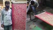 Rajasthan: कोरोना के खिलाफ लोगों को जागरूक करने के लिए जोधपुर के कारीगर ने बनाई विशेष चारपाई, लिखा हुआ है खास संदेश