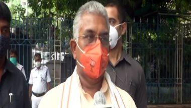 West Bengal: पश्चिम बंगाल बीजेपी अध्यक्ष दिलीप घोष ने मुकुल रॉय पर साधा निशाना, कहा- मुकुल रॉय के जाने से बीजेपी को कोई नुकसान नहीं