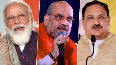 UP Politics: पीएम नरेंद्र मोदी ने अमित शाह और जेपी नड्डा के साथ किया यूपी चुनाव पर मंथन