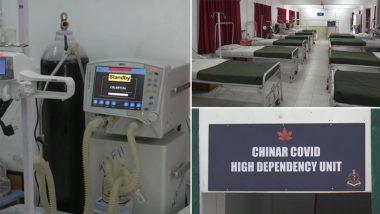 Jammu and Kashmir: भारतीय सेना की चिनार कॉर्प्स ने कोविड-19 अस्पताल राज्य को समर्पित किया