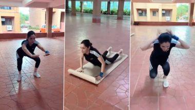 Morning Motivation: अंकिता लोखंडे ने बिना जिम के किया कमाल का वर्कआउट, Video देख खुश हुए फैंस