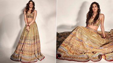 Janhvi Kapoor Photos: जान्हवी कपूर ने कलीदार लहंगा पहन दिखाया अपना ग्लैमरस लुक, नजरें हटा पाना हुआ मुश्किल