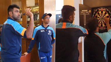 ICC WTC Final 2021: यहां देखें जब शुक्रवार को Southampton में हो रही थी लगातार बारिश, तो ड्रेसिंग रूम में Ravichandran Ashwin किस खेल के ले रहे थे मजे