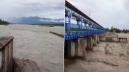 Uttarakhand: भारी बारिश से नदियां उफान पर, शारदा बैराज का जलस्तर बढ़ा- यूपी के 10 जिलों के लिए रेड अलर्ट