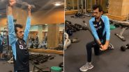 Yuzvendra Chahal श्रीलंका टूर के लिए जिम में कर रहे हैं जमकर मेहनत, देखें वीडियो