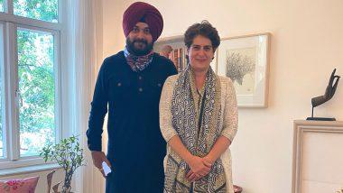 Punjab: कांग्रेस की अंदरूनी कलह होगी खत्म? नवजोत सिंह सिद्धू ने की प्रियंका और राहुल गांधी से मुलाकात, जल्द फैसला संभव