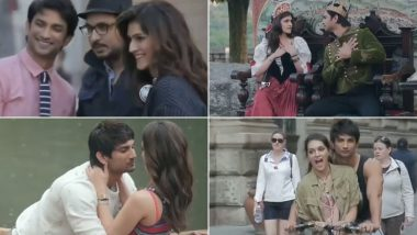 Kriti Sanon made an emotional post in memory of Sushant Singh Rajput on the completion of 4 years of 'Raabta', watch video