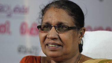 केरल महिला आयोग की अध्यक्ष एक बार फिर विवादों में