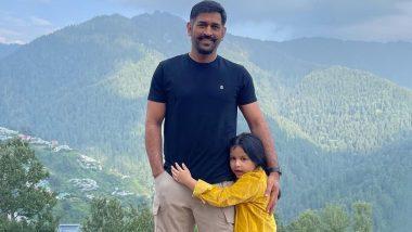 नए लुक में दिखे भारत के पूर्व कप्तान MS Dhoni, शिमला में मना रहे परिवार के साथ छुट्टियां