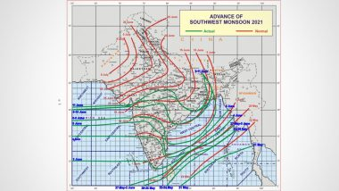 Monsoon 2021: Meteorological Department issues heavy rain warning for these states, find out where the monsoon has reached