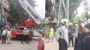 मुंबई में नवनिर्मित बहुमंजिला इमारत की सर्विस लिफ्ट गिरी, 4 की मौत
