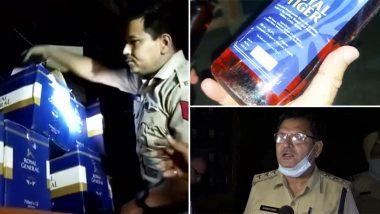 Ambala: पुलिस और एक्साइज टीम ने अवैध शराब बरामद की, डीएसपी ने कहा-  ये 2 ट्रक कहां से लाया गया है इसकी जांच की जाएगी