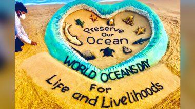 World Ocean Day 2021: United Nations Environment Program praises sand artist Sudarshan