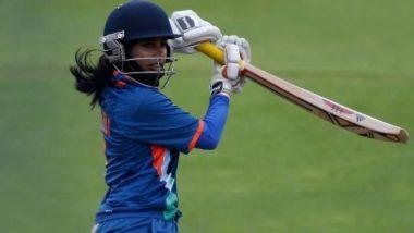 ENG(W) vs IND(W) 1st ODI 2021: भारतीय कप्तान Mithali Raj की जुझारू अर्धशतकीय पारी, टीम इंडिया ने इंग्लैंड को दिया 202 रन का लक्ष्य