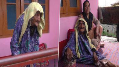 Jammu-Kashmir: बारामूला की 124 वर्षीय बुजुर्ग महिला ने लगवाई वैक्सीन की पहली डोज